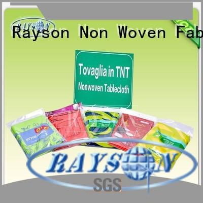 Rayson Non Woven Fabric high quality supplier for hotel