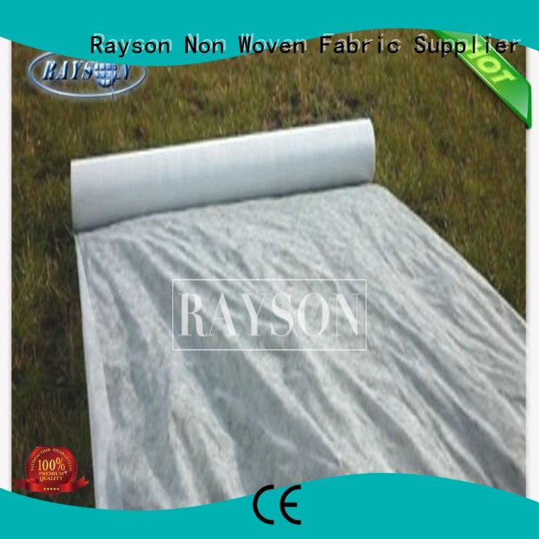 Rayson Non Woven Fabric high quality preen landscape fabric matting for ground cover