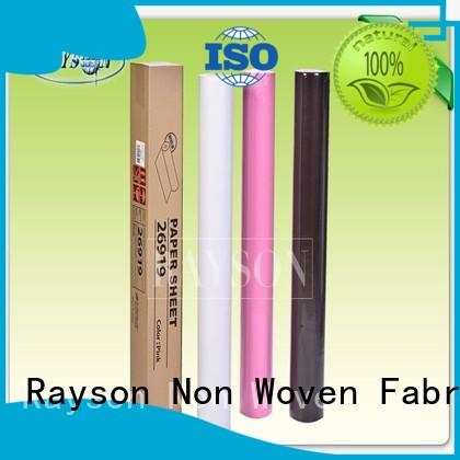 protection mulching disposable bed sheets width Rayson Non Woven Fabric Brand
