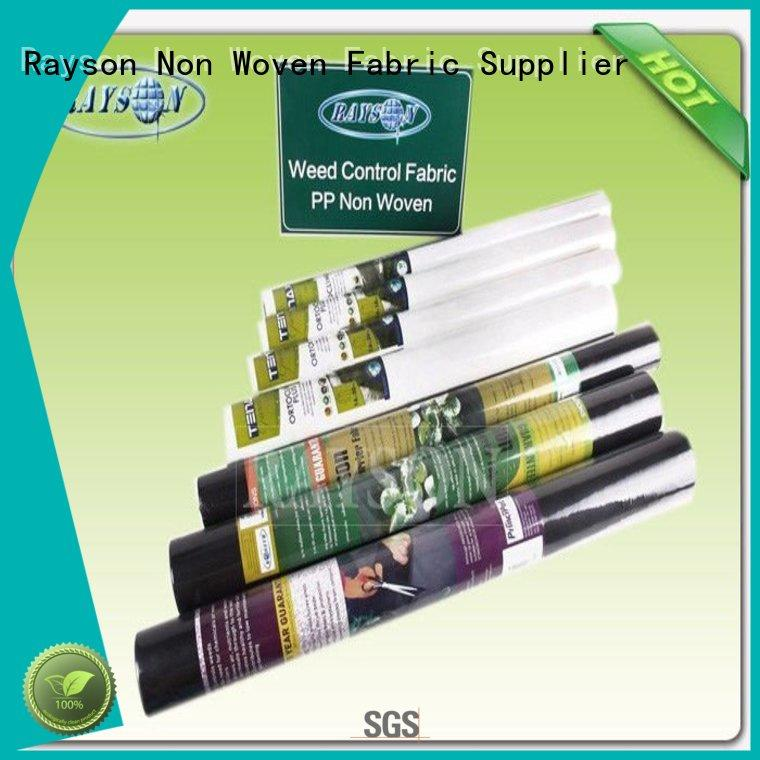 Rayson Non Woven Fabric online landscape membrane manufacturer for seed blankets