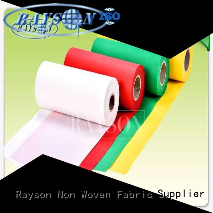 amp process dress decoration Rayson Non Woven Fabric Brand pp spunbond nonwoven fabric supplier