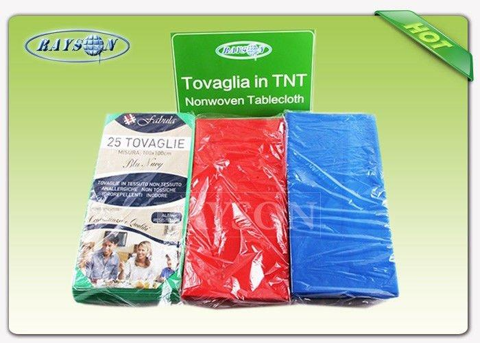 Eco-friendly Disposable 1m*1m 100% Polypropylene Spunbond Non Woven Table Cloth Runner Made In China-2
