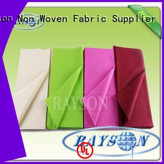 white supplier for restaurants Rayson Non Woven Fabric