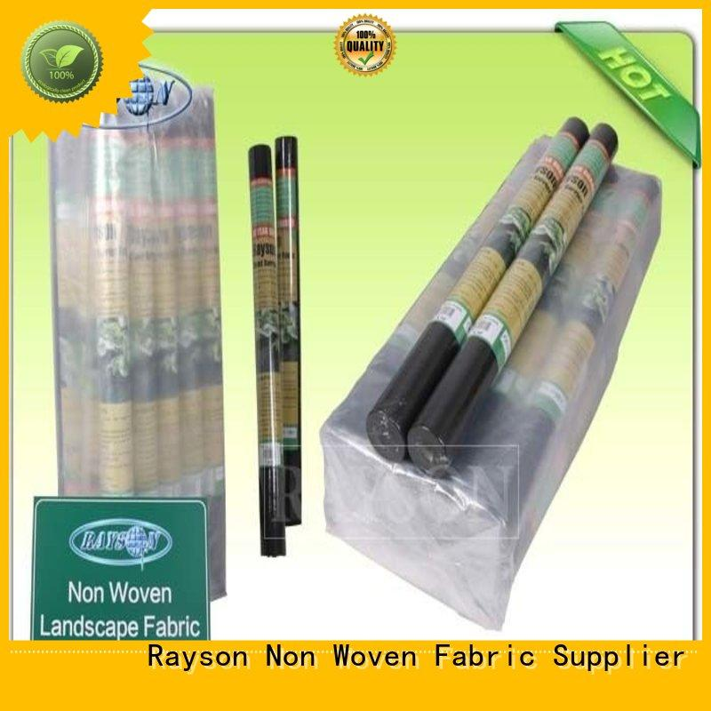 weed mats for garden beds best extra smell Rayson Non Woven Fabric Brand weed control fabric