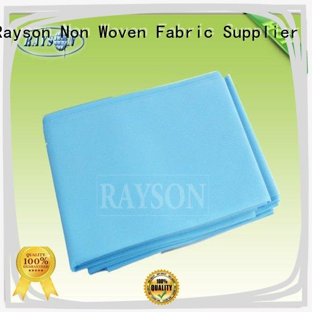 Rayson Non Woven Fabric high quality oem for beauty salon use