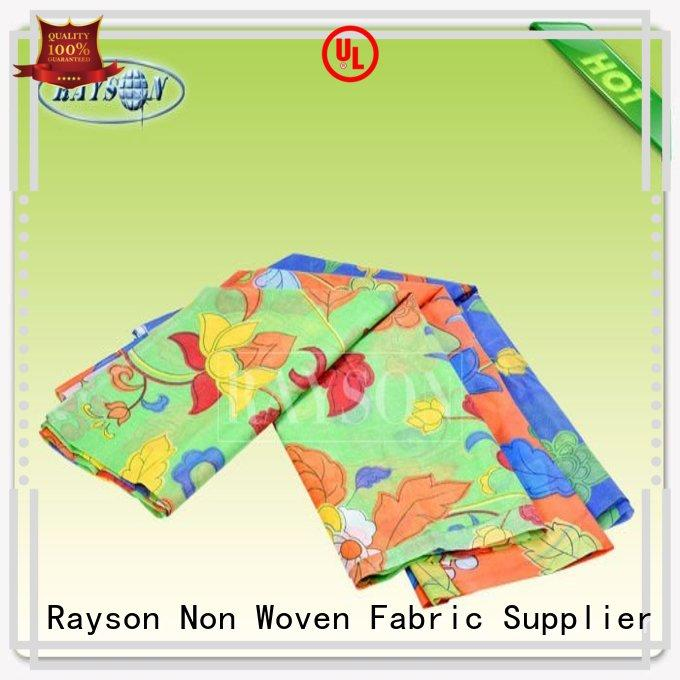 than density dinning Rayson Non Woven Fabric Brand woven vs nonwoven fabric manufacture