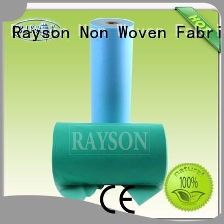 Rayson Non Woven Fabric Brand laying fair tejidos pp spunbond nonwoven fabric