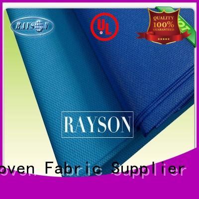 spunbond non woven fabric manufacturer 20gsm laminated non woven fabric Rayson Non Woven Fabric Brand