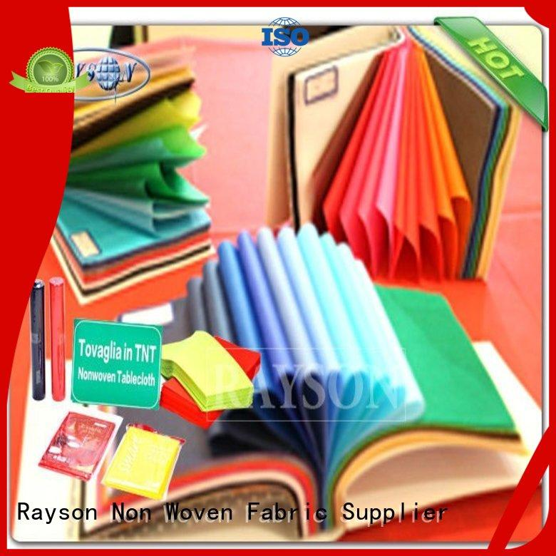 heat supplier for factory Rayson Non Woven Fabric