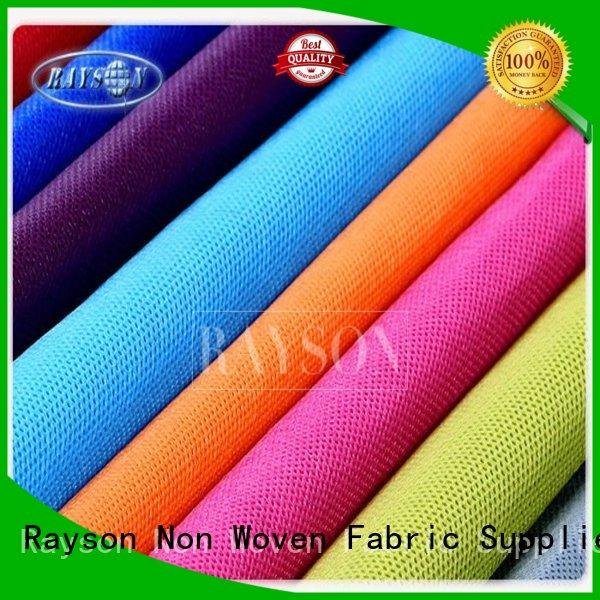 guaranteer Custom food pp spunbond nonwoven fabric pretection Rayson Non Woven Fabric