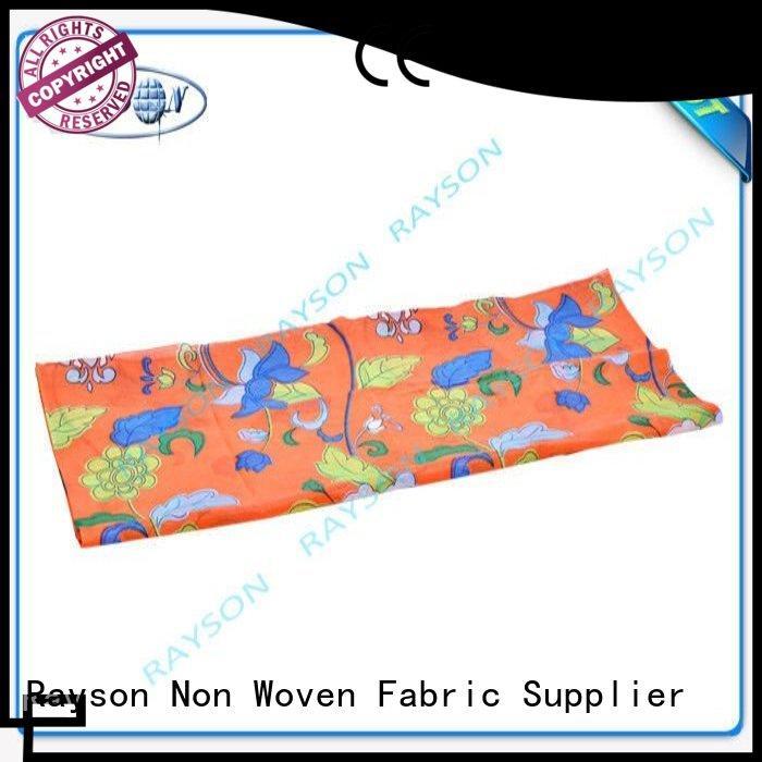 Rayson Non Woven Fabric Brand whole care woven print stop supplier