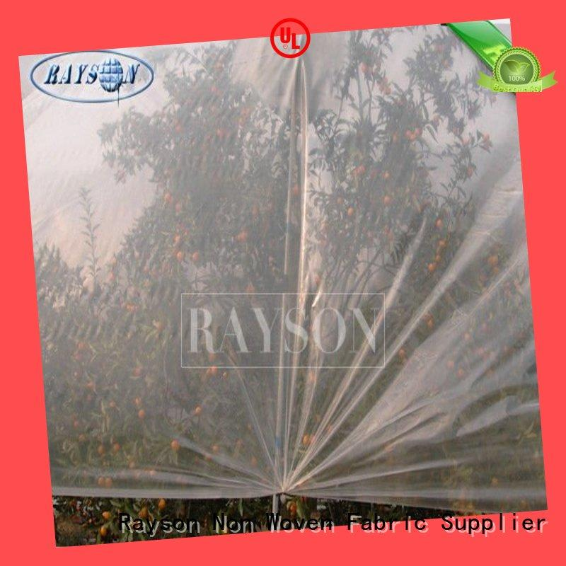 Rayson Non Woven Fabric breathable plant fleece guaranteer for plants covers