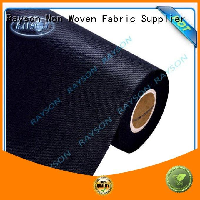 Quality Rayson Non Woven Fabric Brand woven vs nonwoven fabric 60gram direct