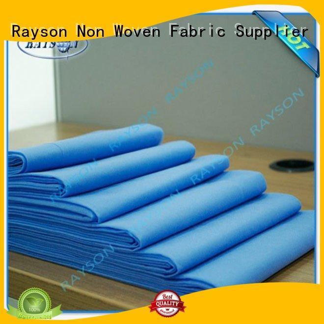 flexible children sheets Rayson Non Woven Fabric Brand laminated non woven fabric supplier