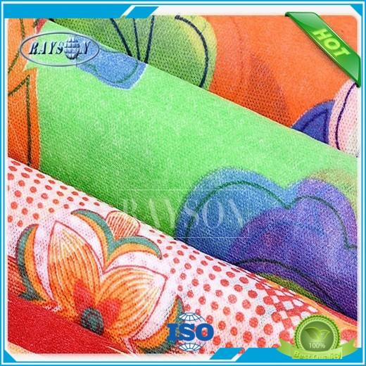 Quality Rayson Non Woven Fabric Brand woven print convenient