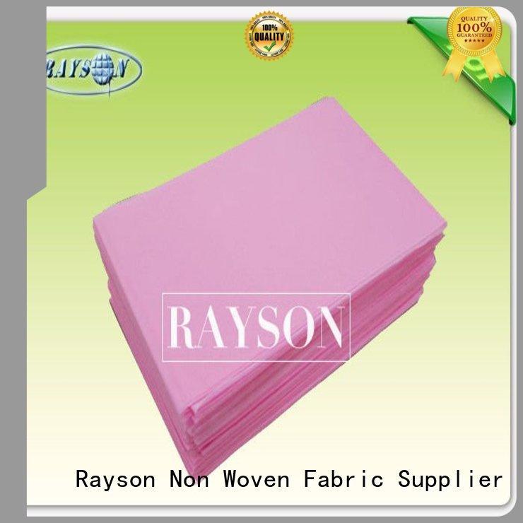 Rayson Non Woven Fabric bag non woven wrap companies for medical health care