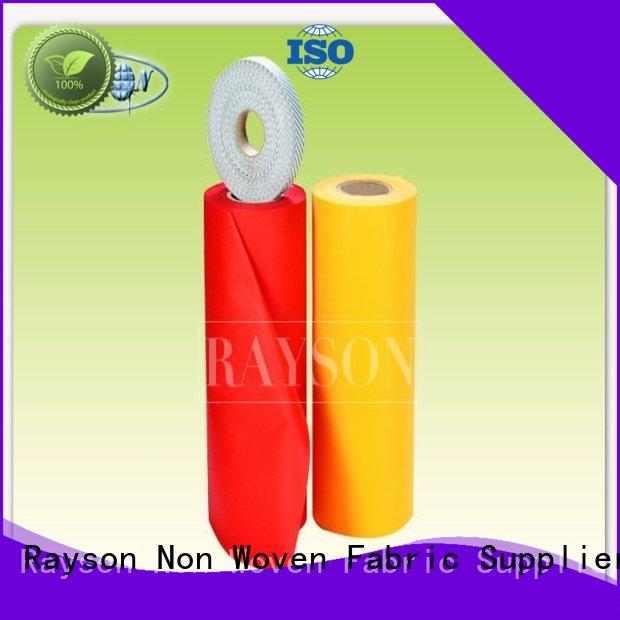 Rayson Non Woven Fabric Best non woven geotextile fabric price Suppliers for shopping bags