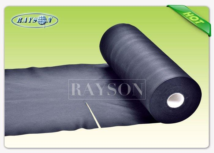 Black Color China Supplier SGS Certificated Non Woven Fabric Made of 100% Polypropylene Material