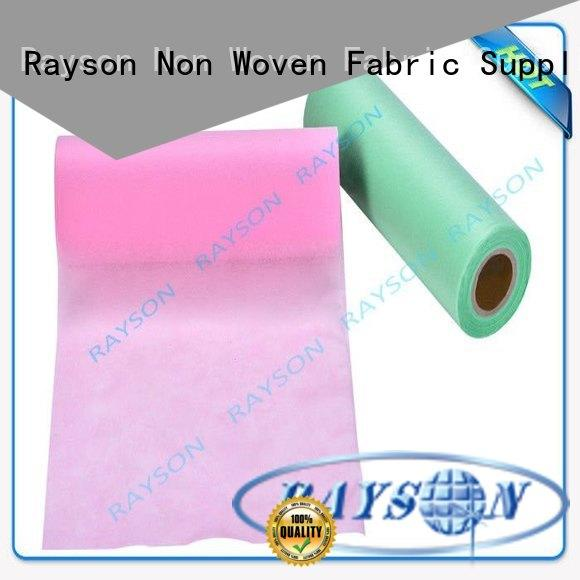 Rayson Non Woven Fabric Wholesale spunlace nonwoven fabric suppliers companies for hospital