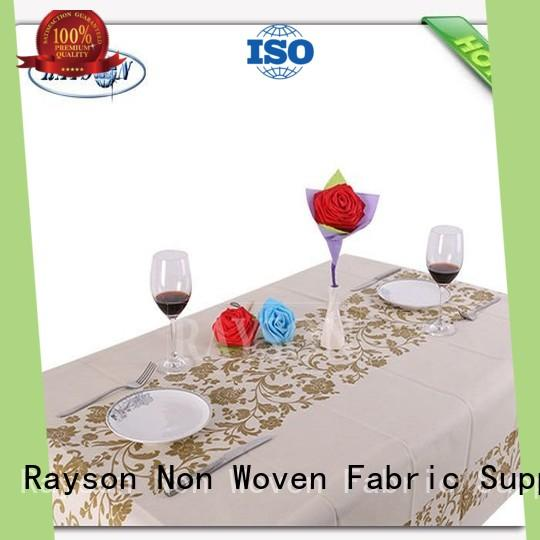 tablecloths manufacturer for restaurants Rayson Non Woven Fabric