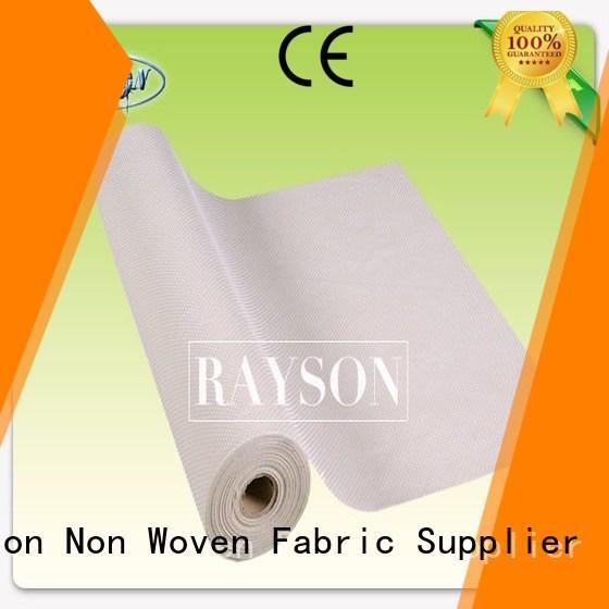 tablecloth outdoor smell non slip vinyl fabric Rayson Non Woven Fabric manufacture