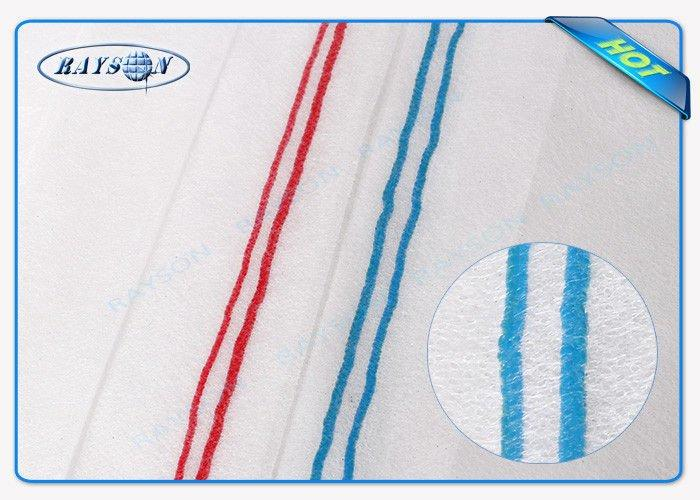 Customize Color Red / Blue Line PP Material Non Woven Landscape Fabric For Garden / Farm To USA / Europe