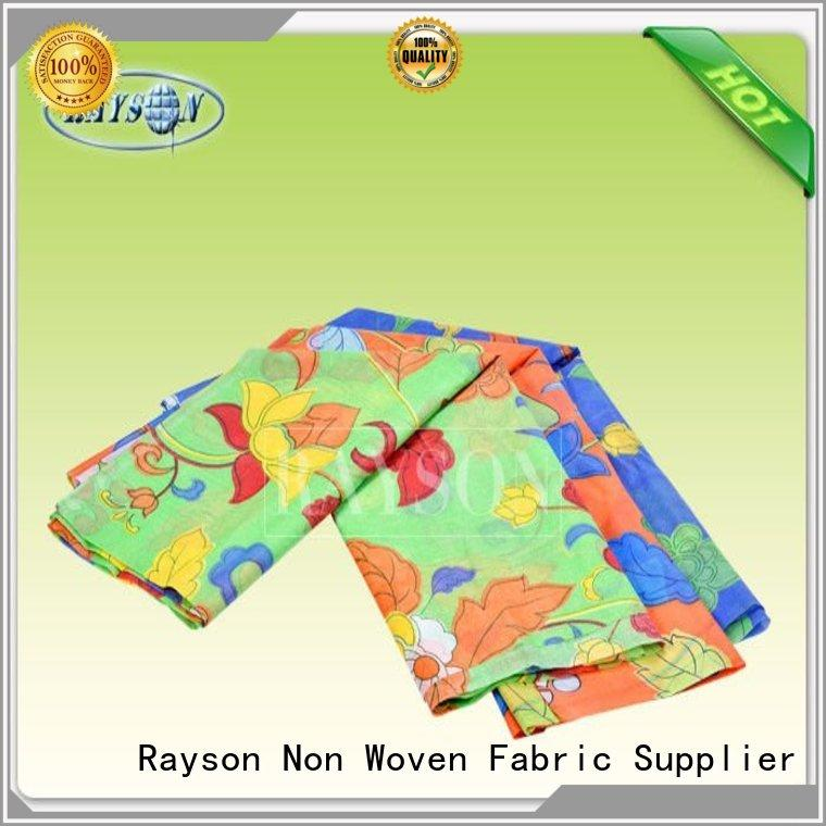 Rayson Non Woven Fabric skin non woven fabric china Suppliers for sofa upholstery
