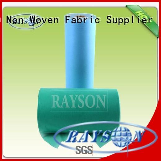 Rayson Non Woven Fabric packing non woven polyethylene fabric Supply for shopping bags