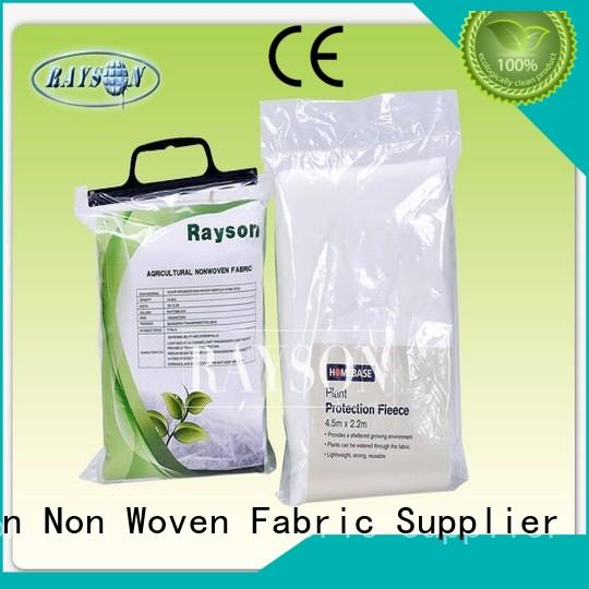 Rayson Non Woven Fabric high density garden weed barrier fabric supplier for root control bags