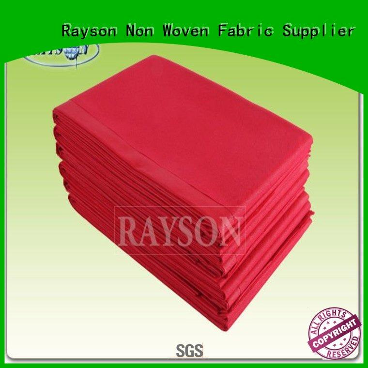 fruit floor stretch OEM disposable bed sheets Rayson Non Woven Fabric