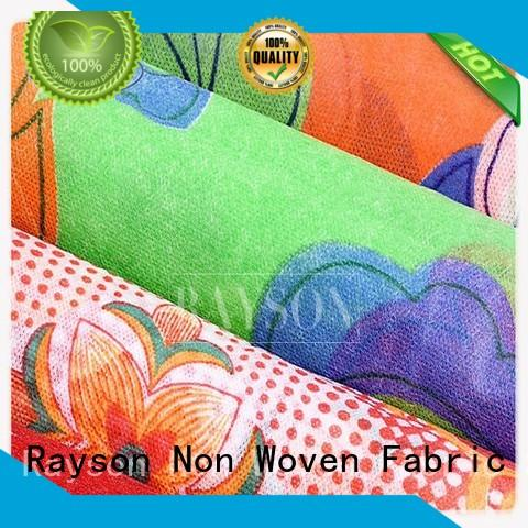 Rayson Non Woven Fabric 160cm non woven raw material companies for gifts bags