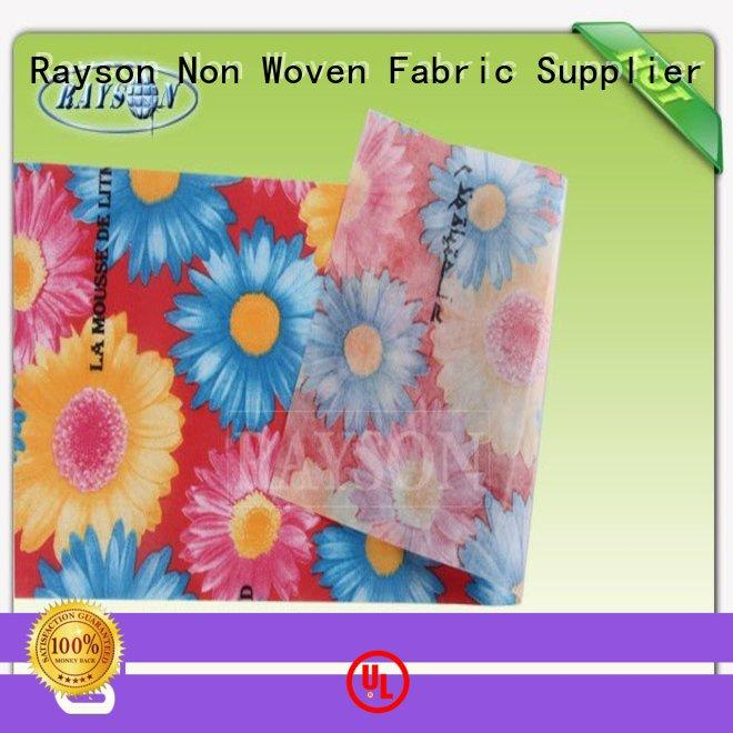 Rayson Non Woven Fabric Custom non woven fabric mumbai factory for agricultural covers