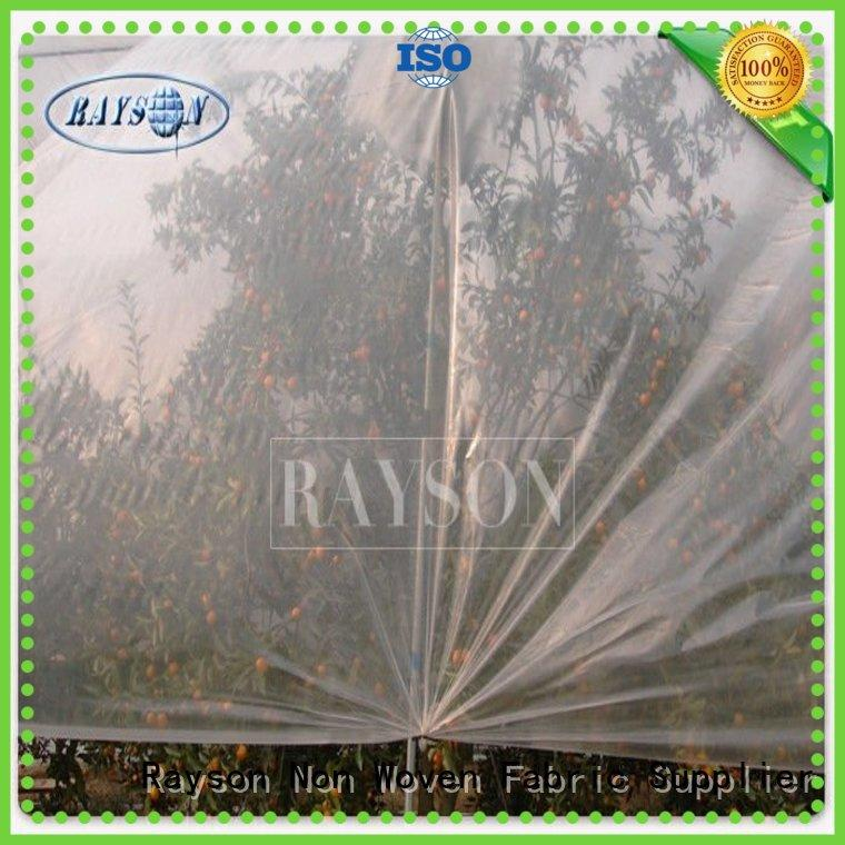 Rayson Non Woven Fabric anti uv garden underlay breathable for seed blankets