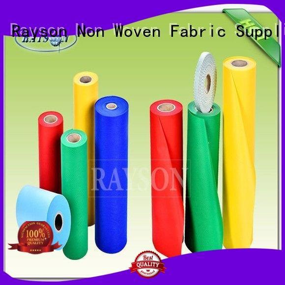 Quality Rayson Non Woven Fabric Brand woven vs nonwoven fabric drape overseas
