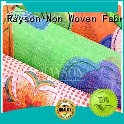 Rayson Non Woven Fabric bedsheet non woven cotton fabric factory for gifts bags