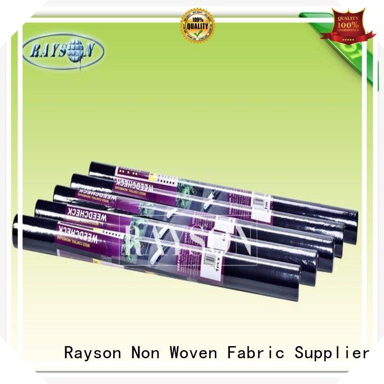 beds black membrane for gardens manufacturer for root control bags Rayson Non Woven Fabric