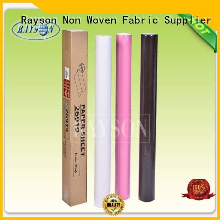 Rayson Non Woven Fabric Wholesale disposable bed sheet roll india factory for hospital use