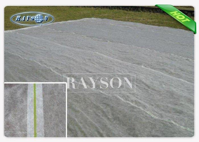 Agriculture Winter Frost Protection Fabric Spunbond Air Prmeable Non Woven / Spunbonded Technics