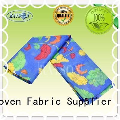 bonded than woven print Rayson Non Woven Fabric Brand
