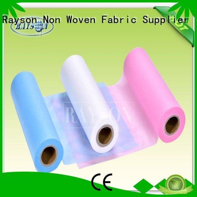 Rayson Non Woven Fabric Brand tension black non woven fabric 100 supplier