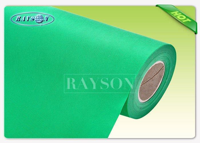 Oeko-Tex Approved 1.2 m Width PP Spunbond Non Woven Fabric for Shopping Bag / Suit Sets