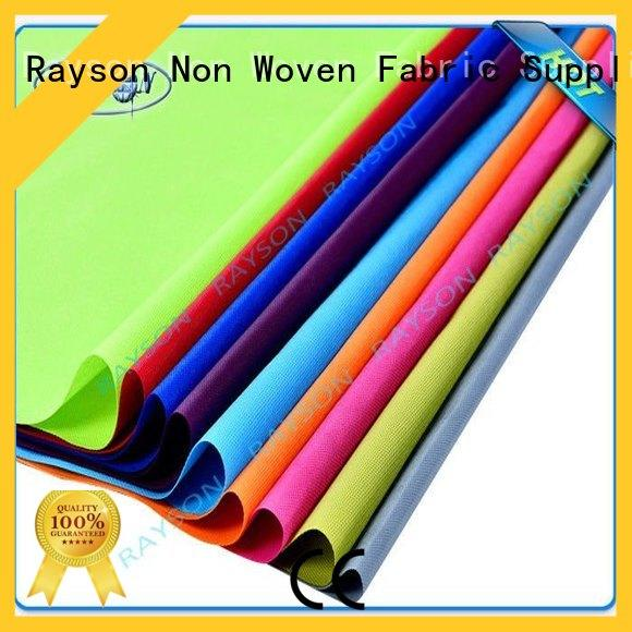 Rayson Non Woven Fabric handle non woven fabric applications companies for suits pockets
