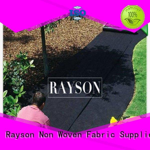 permeability weed control cloth fabric tree for ground cover Rayson Non Woven Fabric