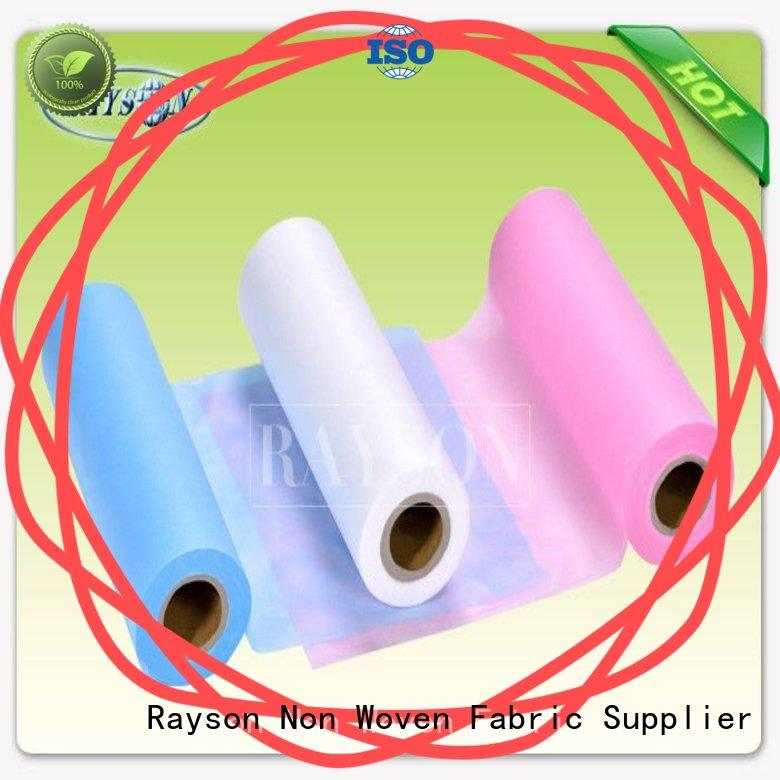 Rayson Non Woven Fabric Custom spunbond non woven fabric manufacturer Supply for doctor