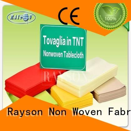 Rayson Non Woven Fabric individual wholesale for outerdoor