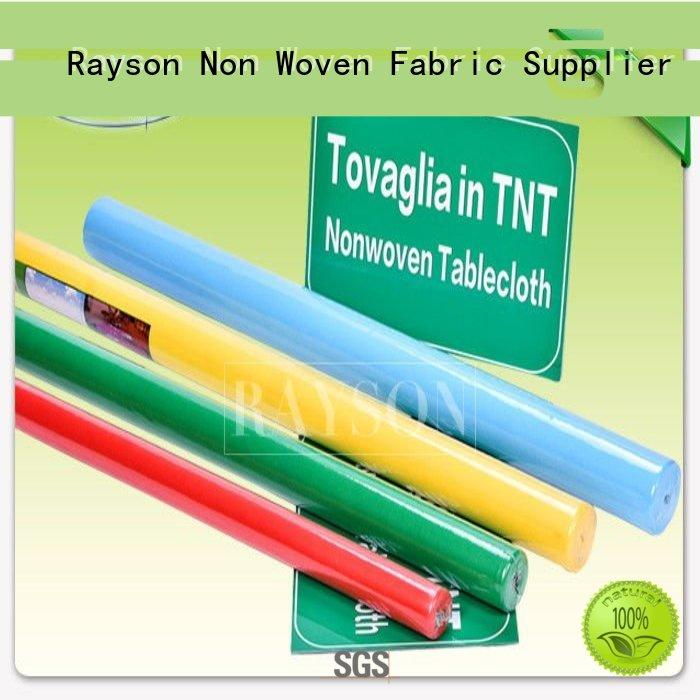 Rayson Non Woven Fabric customized 1m1m for factory