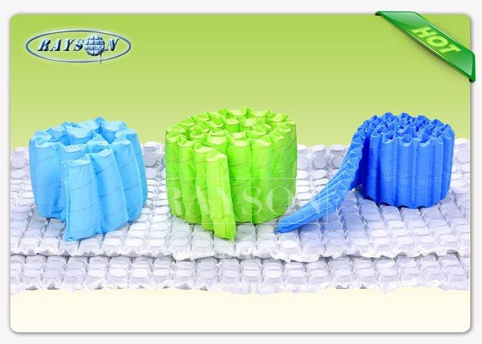 100% Fresh Polypropylene Nonwoven Fabric Embossed / Seasame Pattern 10-150gsm