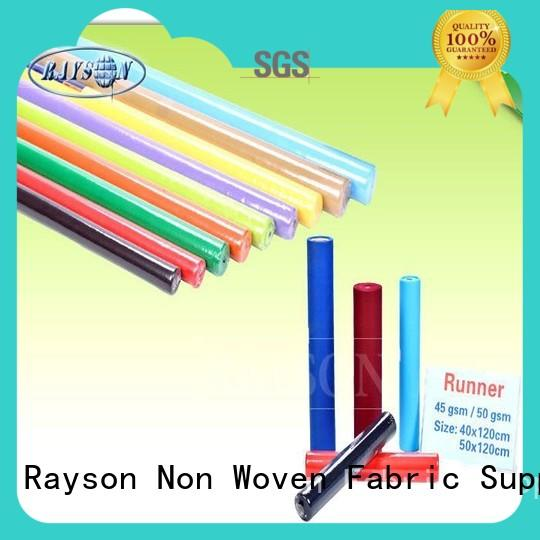 Rayson Non Woven Fabric high quality green for restaurants