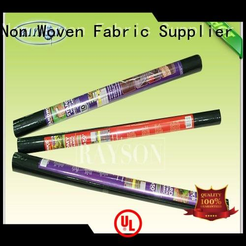 ground control fabric sgs for root control bags Rayson Non Woven Fabric