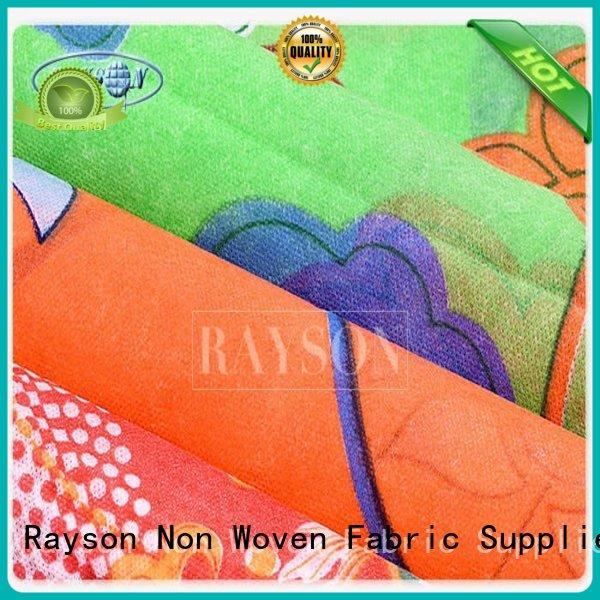 Rayson Non Woven Fabric Brand more clean pp spunbond nonwoven fabric 10200 factory